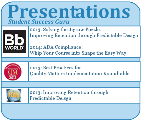 Presentations: Student Success Guru